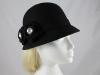 Victoria Ann Rosette Winter Hat