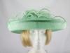 Blackberry Hats Mid Green Formal Hat