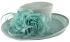 Hawkins Collection Flower Events Hat in Blue & Ice Blue