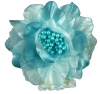 Flower Corsage in Blue
