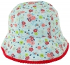 SSP Hats Flower Cotton Sun Hat in Blue