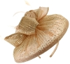 Failsworth Millinery Sequined Disc Headpiece in Blush