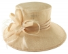 Hawkins Collection Down Brim Occasion Hat in Blush