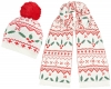 Boardman Holly Bobble Hat with Matching Scarf