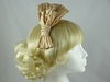 Bow Fascinator in Mink