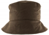 Failsworth Millinery Bow Wax Hat in Brown
