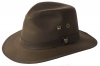 Failsworth Millinery Wax Drifter Fedora (Latest Version) in Brown