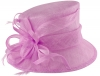 Hawkins Collection Short Down Brim Wedding Hat in Bubblegum