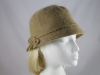 Bow Winter Hat in Camel