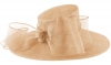 Failsworth Millinery Bow Ascot Hat in Cameo