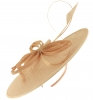 Failsworth Millinery Butterfly Ascot Disc in Cameo
