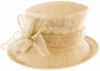Failsworth Millinery Loops Wedding Hat in Cameo