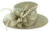 Failsworth Millinery Occasion Hat in Carbon-Silver