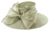 Failsworth Millinery Wide Brimmed Events Hat in Carbon-Silver