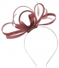 Failsworth Millinery Satin Loops Aliceband Fascinator in Cassis