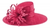 Failsworth Millinery Ascot Hat in Cerise