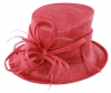 Max and Ellie Occasion Hat in Cerise