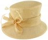 Failsworth Millinery Wedding Hat in Champagne