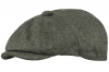 Boardman Rob Wool Bakerboy Cap in Charcoal