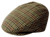 Failsworth Millinery Norwich Flat Cap in Checked 244