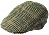 Failsworth Millinery Norwich Flat Cap in Checked 246