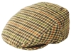 Failsworth Millinery Norwich Flat Cap in Checked 254
