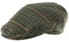Boardmans Wool Flat Cap in Checked 3 - Mixed