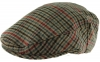 Boardmans Wool Flat Cap in Checked 4 - Mixed