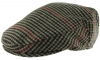 Boardmans Wool Flat Cap in Checked 5 - Mixed