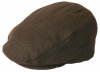 Failsworth Millinery Melton Cap in Chocolate