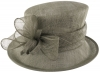 Failsworth Millinery Loops Wedding Hat in Cloud