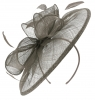 Failsworth Millinery Sinamay Disc Headpiece in Cloud