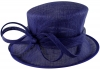 Failsworth Millinery Occasion Hat in Cobalt