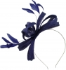 Failsworth Millinery Sinamay Loops Fascinator in Cobalt