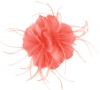 Failsworth Millinery Feather Fascinator in Coral (SS19)