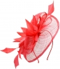 Elegance Collection Events Headpiece in Coral