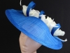 Couture by Beth Hirst Cobalt Blue Poppy Saucer