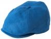Failsworth Millinery Irish Linen Hudson Bakerboy Cap in Denim