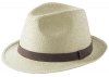Failsworth Millinery Straw Trilby in Dove