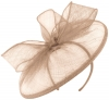 Failsworth Millinery Sinamay Disc in Dusk