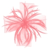 Aurora Collection Biots and Beads Fascinator in Dusky Pink