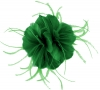 Failsworth Millinery Feather Fascinator in Emerald