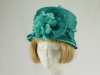 Failsworth Millinery Turquoise Wedding Hat