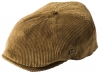 Failsworth Millinery Cord Hudson Baker Boy Cap in Fawn