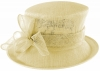 Failsworth Millinery Loops Wedding Hat in Fizz