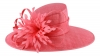 Failsworth Millinery Ascot Hat in Flamingo
