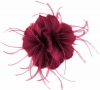 Failsworth Millinery Feather Fascinator in Fuchsia