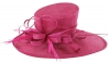 Max and Ellie Ascot Hat in Fuchsia