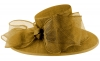 Failsworth Millinery Bow Events Hat in Gold