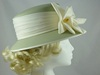Sage Green and Cream Wedding Hat
